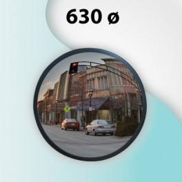 Espejo exterior 630ø con brazo pared