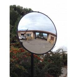 Espejo exterior 706ø con brazo pared y poste